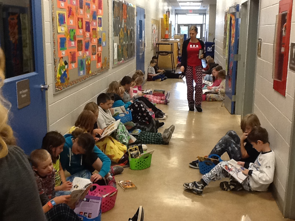 PJs and Reading - a perfect pairing!