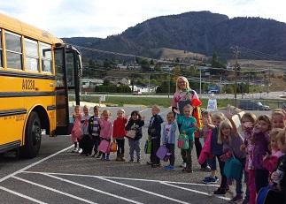 The Kindergarten's First Field Trip...