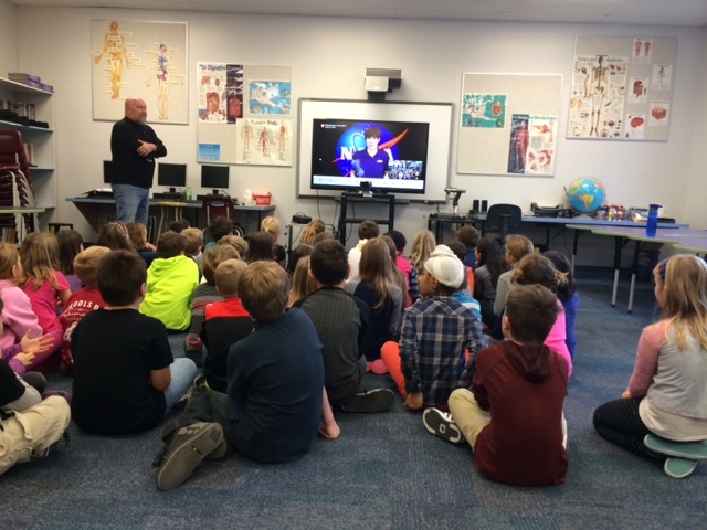 Virtual Fieldtrip to NASA for our gr. 3 students