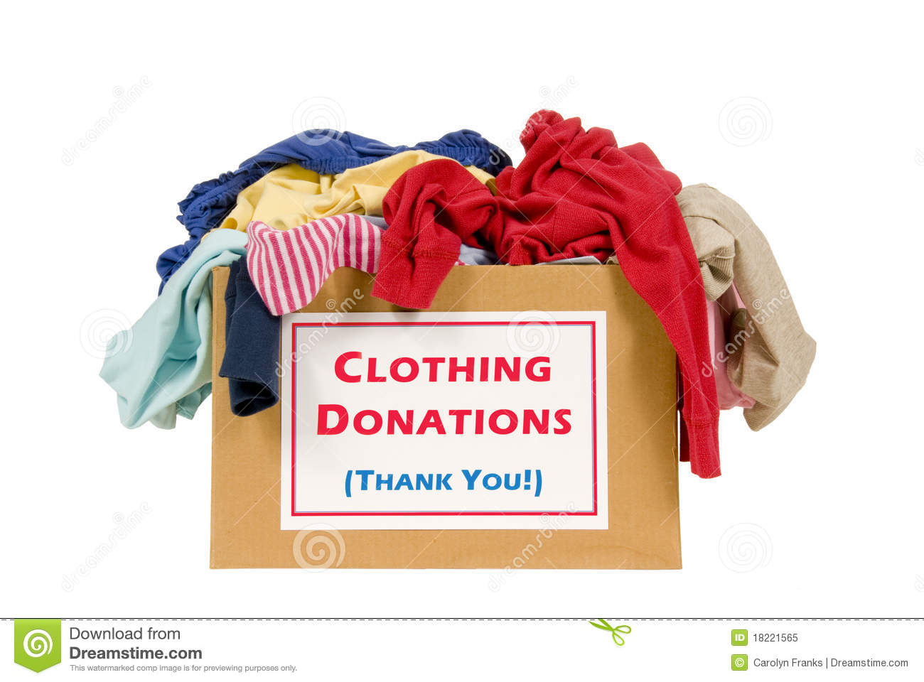 Clothing Drive - Help us recycle gently used clothing!