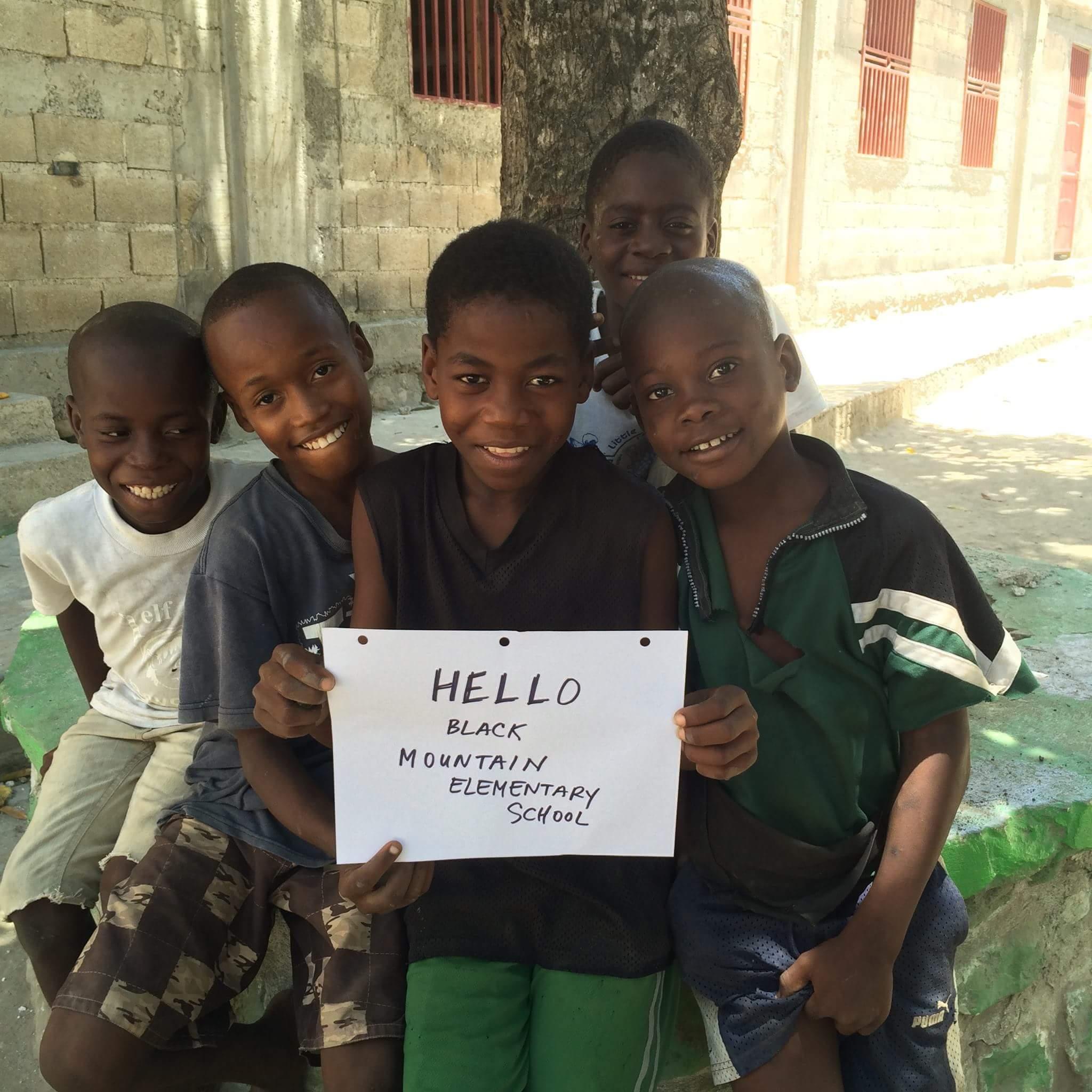Helping Haiti...