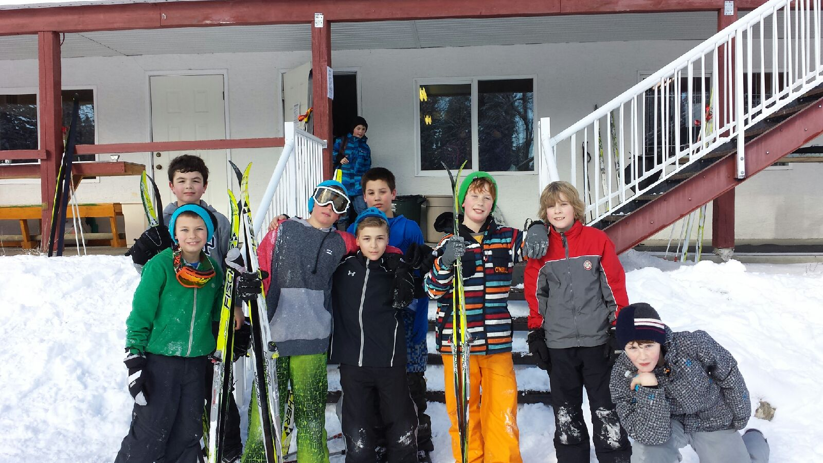 Gr. 5's X-Country Skiing Field Trip
