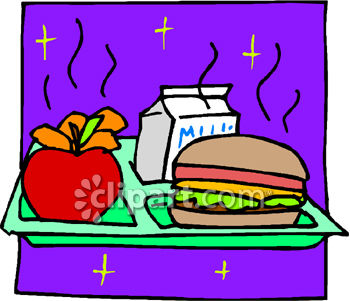 School Lunch Clipart Hot Lunch Order...
